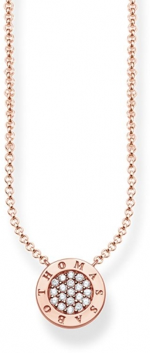 Thomas Sabo Glam & Soul Classic Pavé Necklace