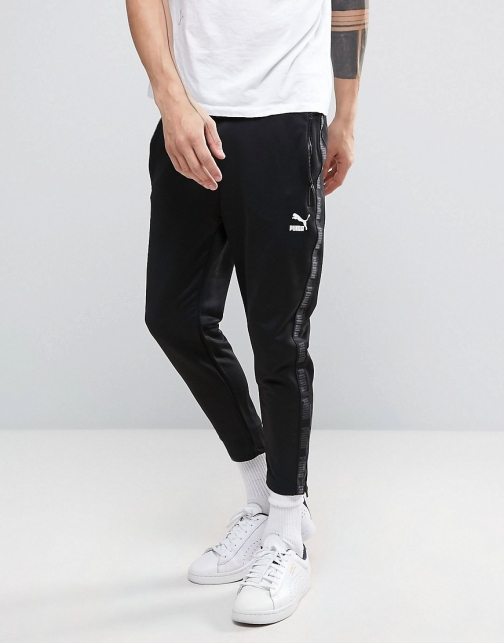 Puma Urban Cropped Joggers Black Trouser