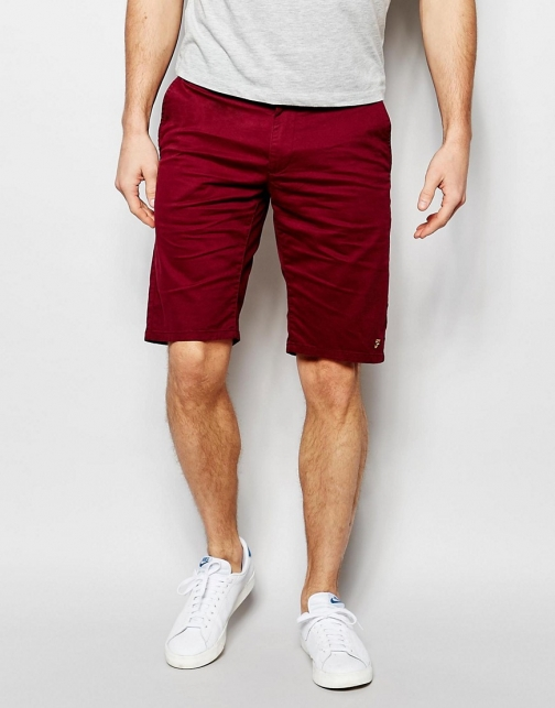 Farah Chino Stretch Cotton Short