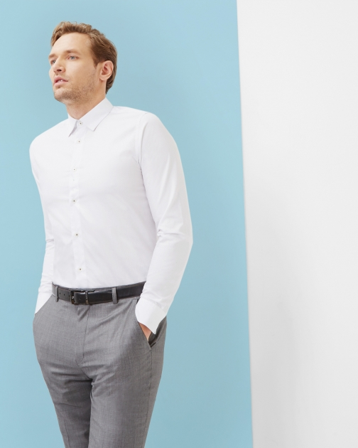Ted Baker Cotton White Shirt