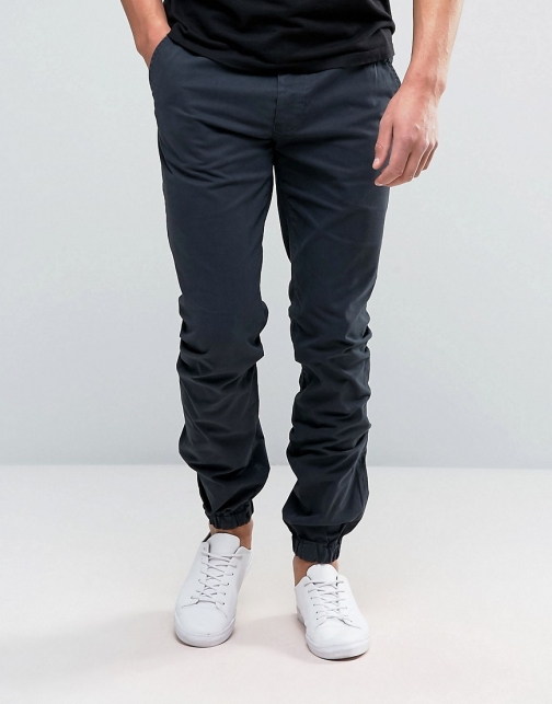 French Connection Cuffed Stretch Skinny Chino