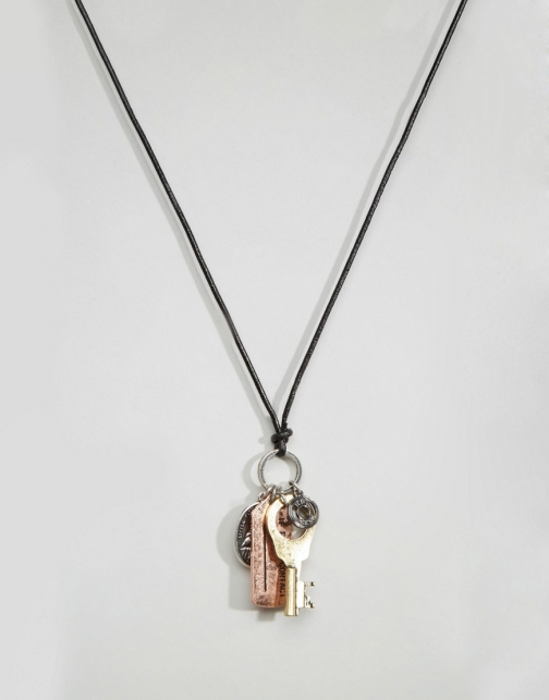 Icon Brand Charm Necklace