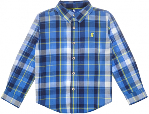 Joules Boys Checked Cotton Shirt