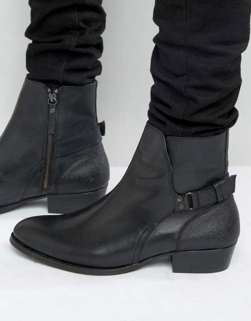 House Of Hounds Steele Leather Jodphur Boot