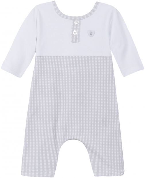 Absorba Baby Boys Long Romper Suit