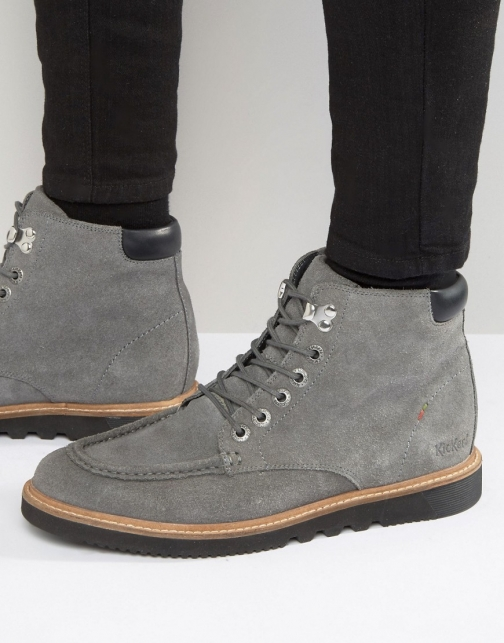Kickers Kwamie Suede Lace Up Boot