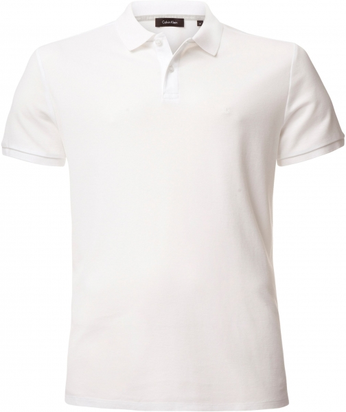 Calvin Klein Men's Calvin Klein Jacob Refined Pique Chest Logo Polo