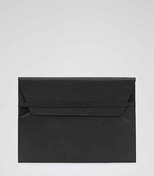 Reiss Konrad Leather Ipad Case