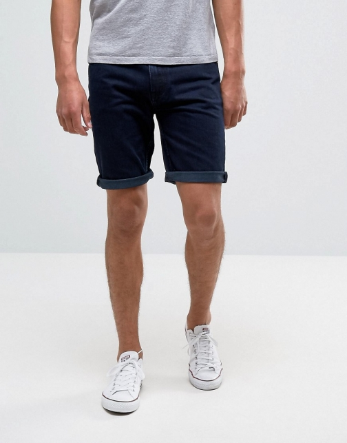 Bellfield Overdye Denim Short