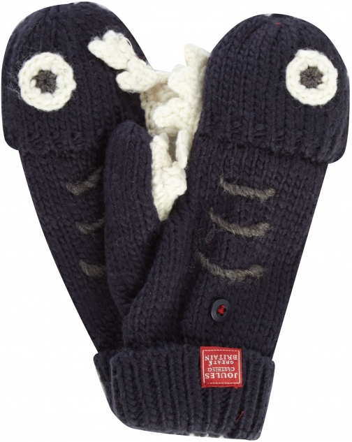 Joules Boys Shack Knitted Gloves