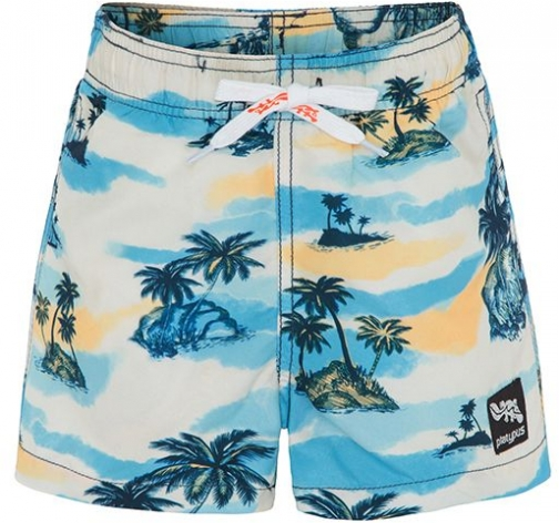 House Of Fraser Platypus Australia Boys UPF50+ Retro Hawaii Swim Short