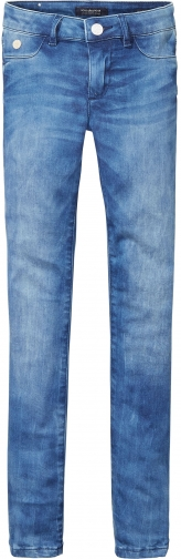 Scotch R'belle Girls La Milou Washed Skinny Jeans