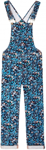 Yumi Girls With Butterfly Print Dungaree