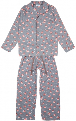 House Of Fraser Minijammies Boys Boat Pyjama