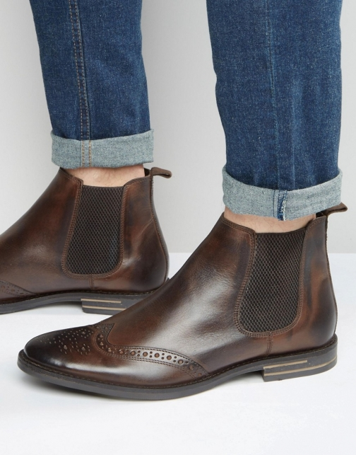 Base London Boxley Leather Chelsea Boot