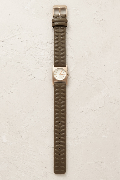 Anthropologie UK ORLA SQR DIAL Watch