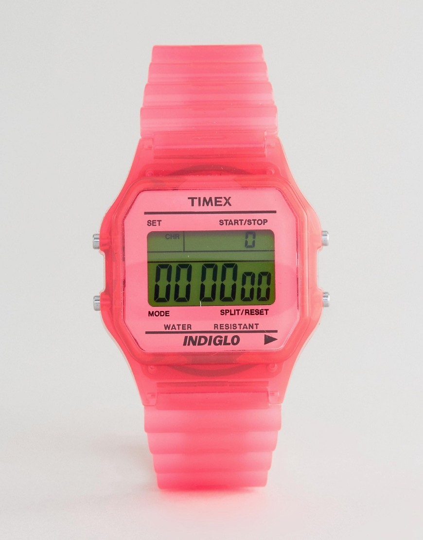 Timex Digital Pink Watch