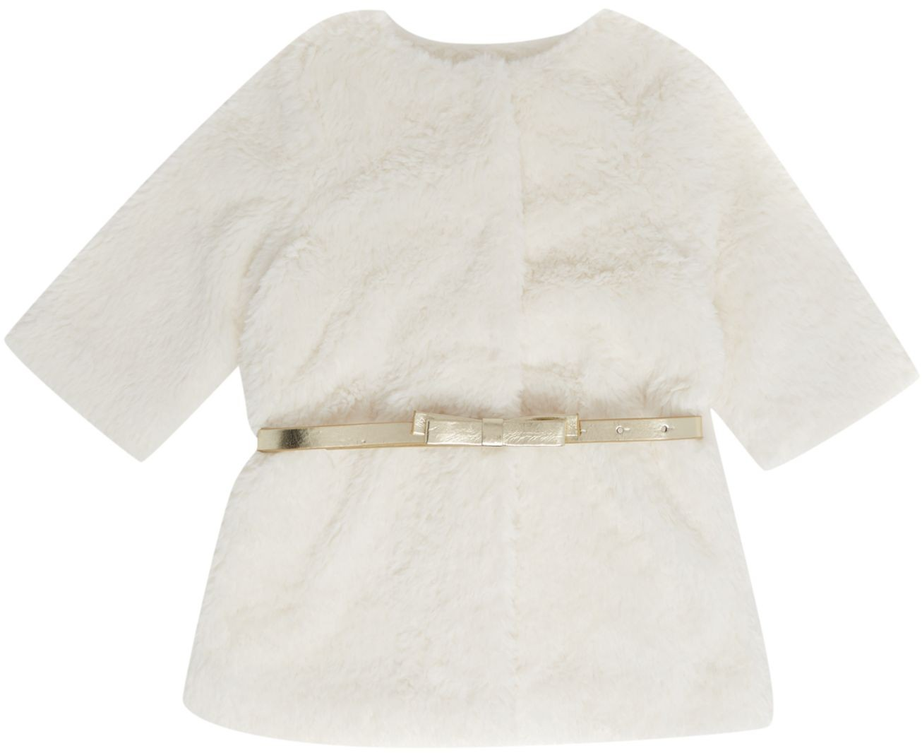 448e748d1 Baby Girls Fake Fur Coat - Findandwear