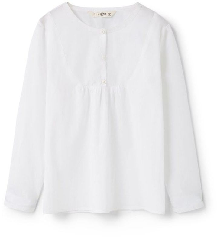 Mango Girls Cotton  Shirt