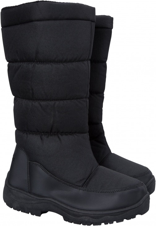 Mountain Warehouse Icey Womens Long - Black Snow Boot