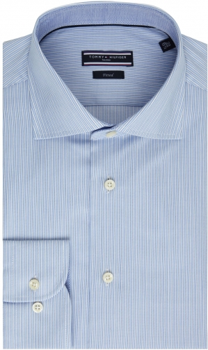 Tommy Hilfiger Men's Tommy Hilfiger Jak Stripe Tailored Shirt