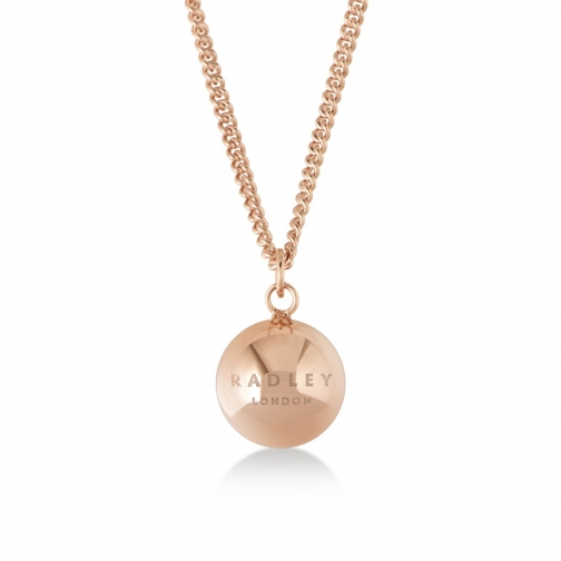 Radley London Bliss Crescent Rose Gold Necklace