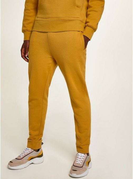 Topman Mens Yellow Mustard Essential Joggers, Yellow Athletic Pant