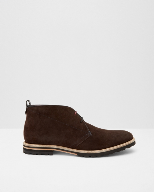 Ted Baker Suede Desert Brown Boot