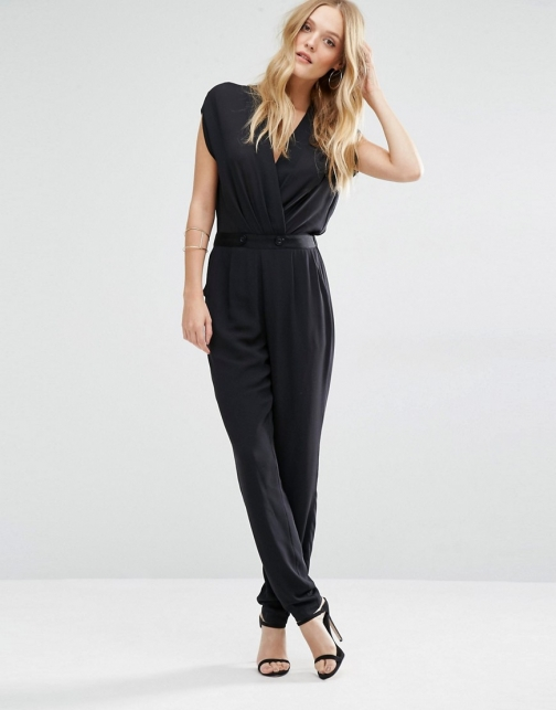 Y.a.s Macy With Wrap Front Jumpsuit