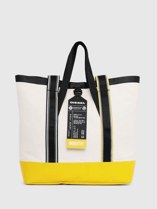 Diesel Shopping And P2210 - White Shoulder Bag