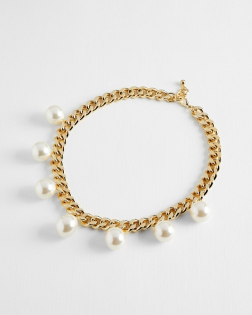 Ted Baker Bubble Pearl Chain Chokers