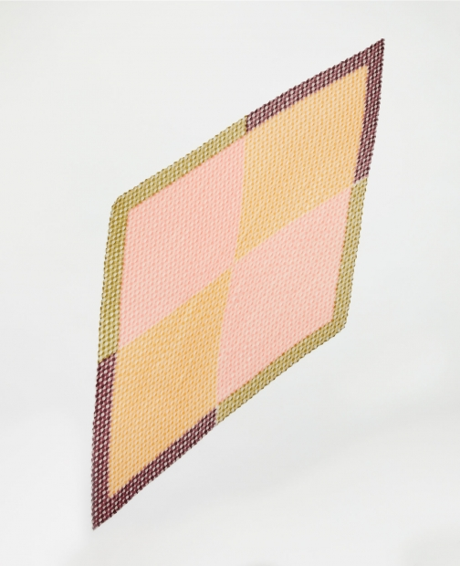 Ann Taylor Factory Gingham Pleated Square Scarf