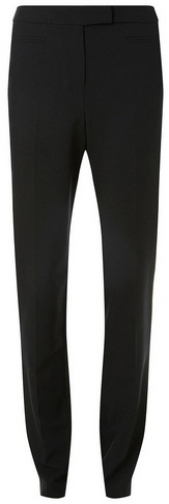 Dorothy Perkins Tall Black Poly Straight Trouser
