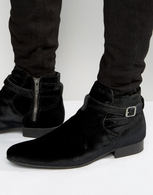 House Of Hounds Albion Velvet Jodphur Boot