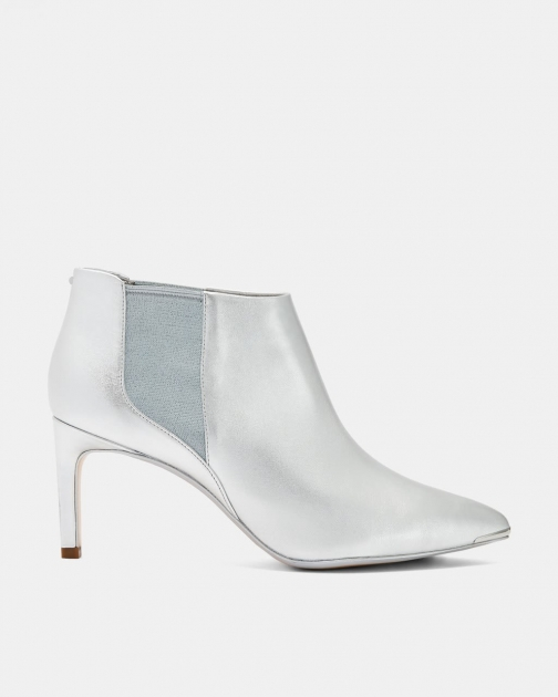 Ted Baker Leather Pointed Ankle Boot