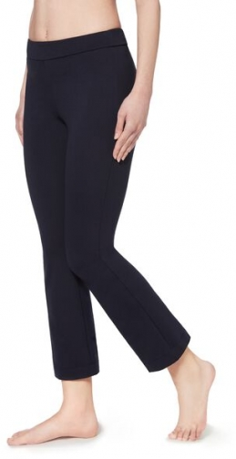 Calzedonia Cropped Flared Woman Blue Size S Legging