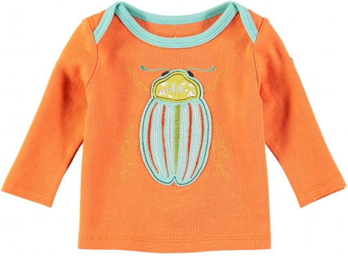House Of Fraser Rockin' Baby Boys Orange Bug T-Shirt