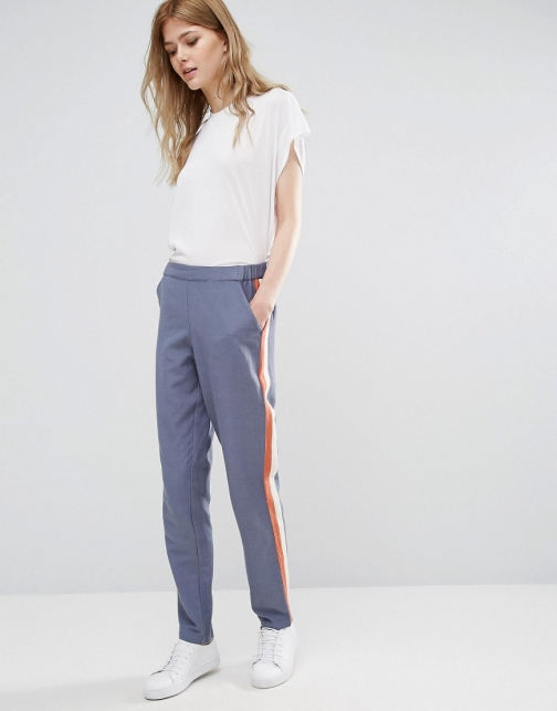 Vila Striped Joggers Athletic Pant