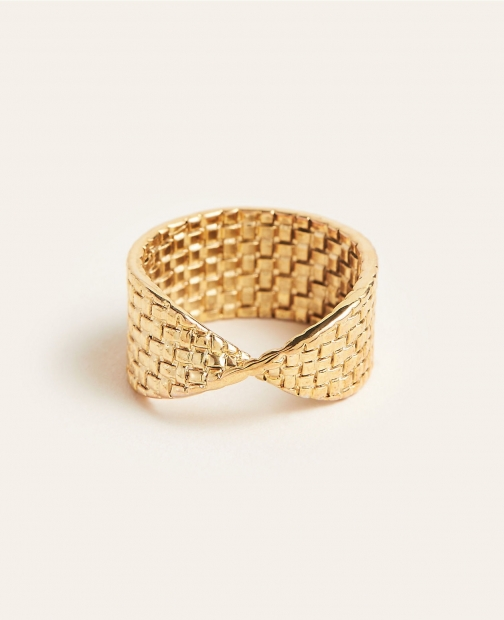 Ann Taylor Basketweave Ring