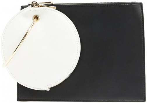 Forever21 Forever 21 Dual Set , White/black Clutch