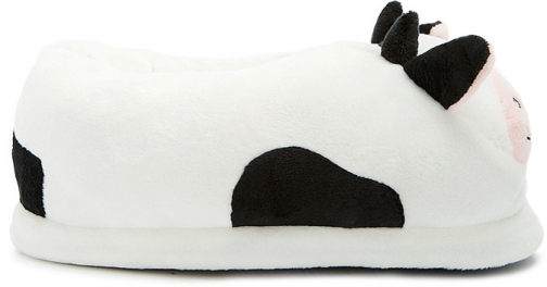 Forever21 Forever 21 Cow Indoor White Slippers