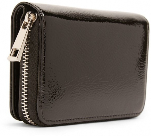 Forever21 Forever 21 Faux Patent Leather Black Wallet