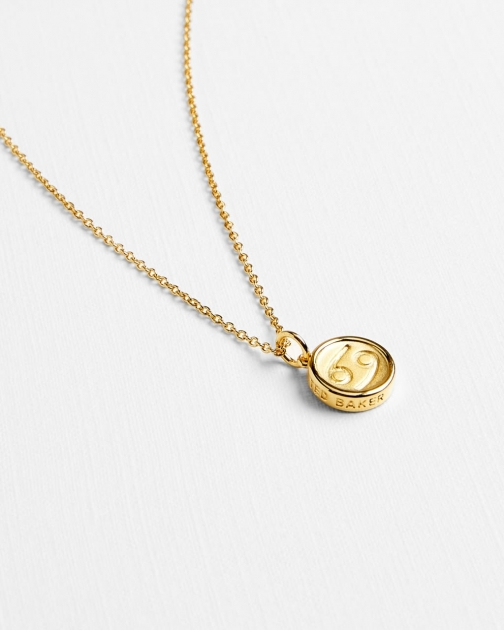 Ted Baker Cancer Zodiac Necklace