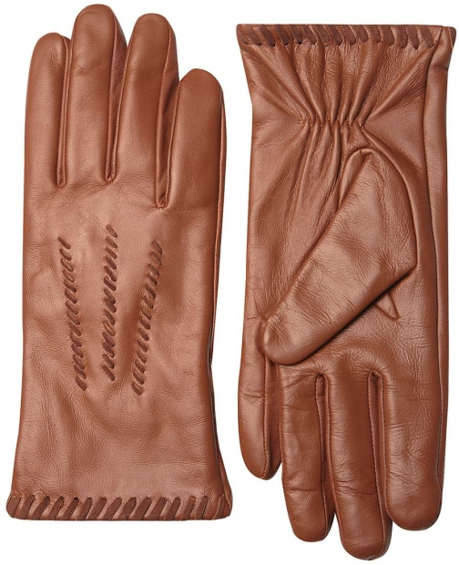 Dorothy Perkins Womens Tan Whipstitch Leather - Brown Glove