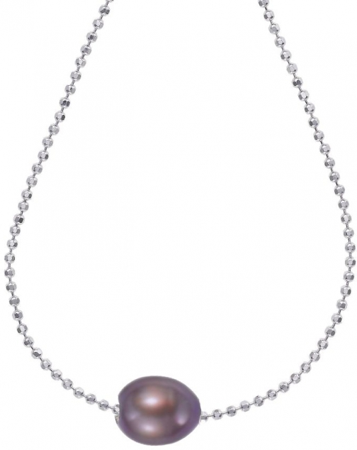 House Of Fraser Dower And Hall Silver Peacock Single Pearl Pendant