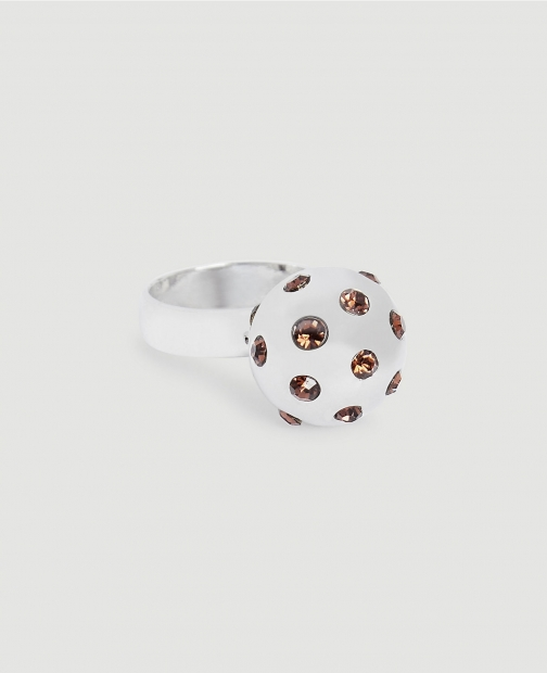 Ann Taylor Jeweled Ball Ring