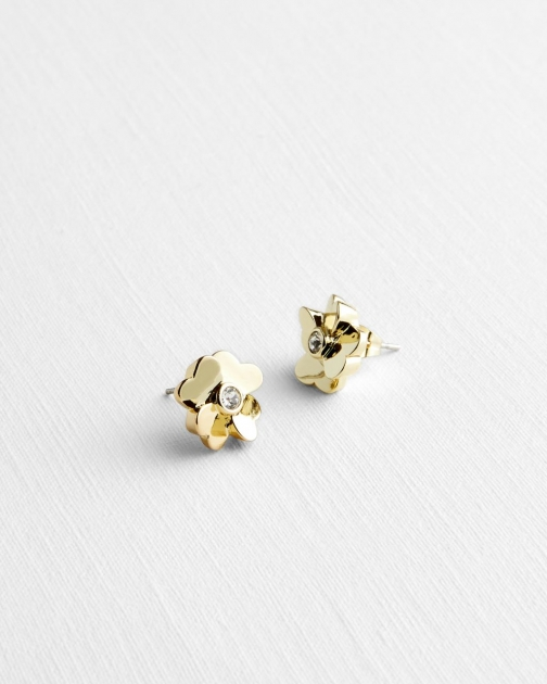 Ted Baker Heart Flower Stud Earring