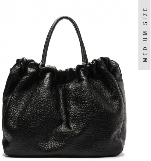 Schutz Shoes Kika Embossed Leather - O/S Black Embossed Leather Tote