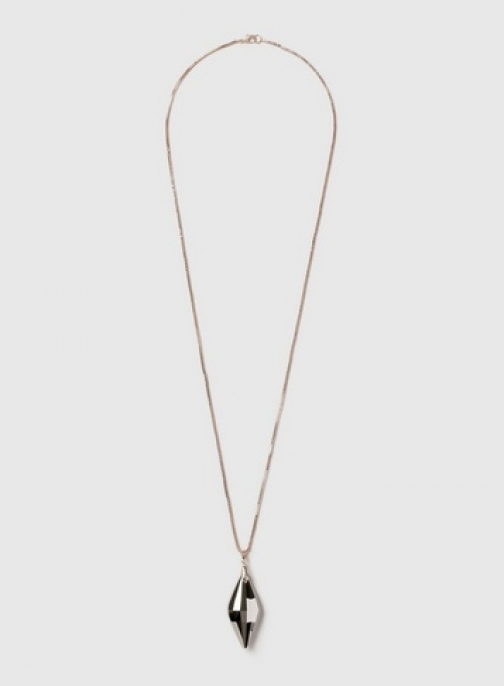 Dorothy Perkins Womens Rose Gold Diamond Necklace- Rose Gold, Rose Gold Pendant