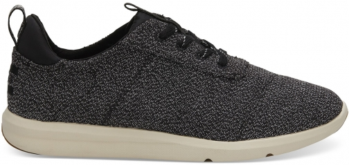 Toms Black Terry Women's Cabrillo Sneakers Shoes Trainer